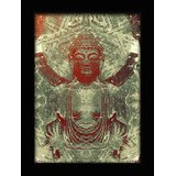 Buddha The Peaceful- 1.5 Feetx2feet Framed