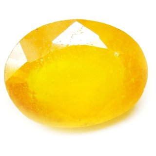 6.75 Ratti 6.19 Carat Loose Natural Pukhraj Yellow Sapphire Gemstone For Astrological Purpose