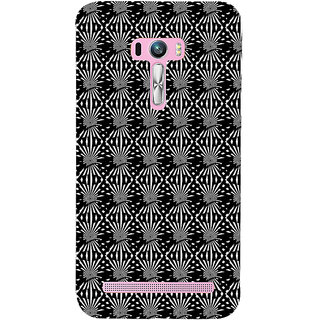 ifasho Design lines pattern Back Case Cover for Asus Zenfone Selfie
