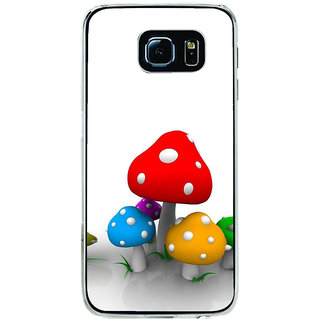 ifasho Mushrooms cartoon Back Case Cover for Samsung Galaxy S6