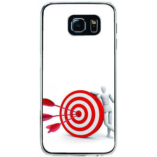 ifasho Hit the bulls eye  Back Case Cover for Samsung Galaxy S6