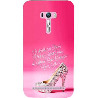 ifasho life changing quote Back Case Cover for Asus Zenfone Selfie