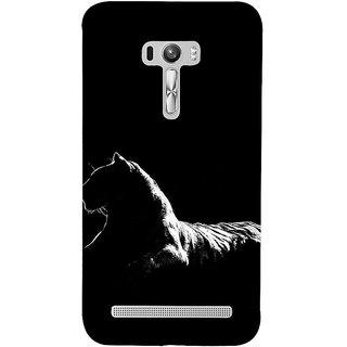 ifasho Leopard resting Back Case Cover for Asus Zenfone Selfie