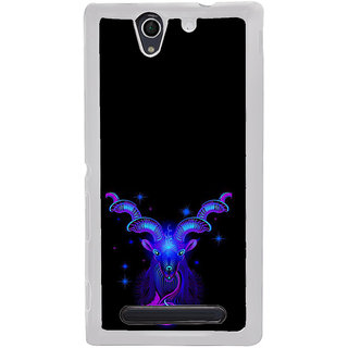 ifasho zodiac sign aries Back Case Cover for Sony Xperia C4