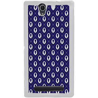 ifasho Animated  Royal design with Queen head pattern Back Case Cover for Sony Xperia C4