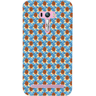 ifasho Modern Art Design animated cloth Pattern of sunflower Back Case Cover for Asus Zenfone Selfie
