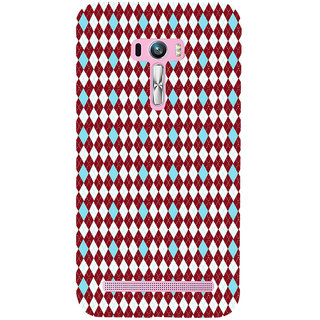 ifasho Animated Pattern design colorful in royal style Back Case Cover for Asus Zenfone Selfie
