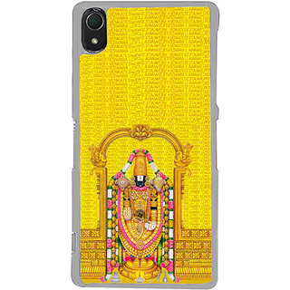 ifasho Tirupati Balaji Back Case Cover for Sony Xperia Z3