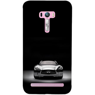 ifasho Stylish Car Back Case Cover for Asus Zenfone Selfie