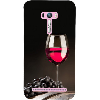 ifasho Wine at Dine Back Case Cover for Asus Zenfone Selfie