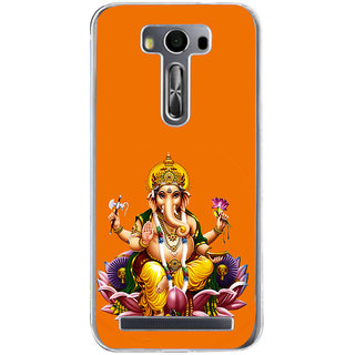 ifasho Lord Ganesha Back Case Cover for Zenfone 2 Laser ZE500KL