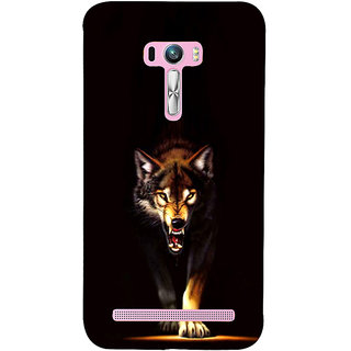 ifasho Angry Wolf Back Case Cover for Asus Zenfone Selfie