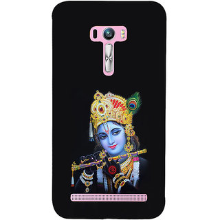ifasho Lord Krishna with Flute Back Case Cover for Asus Zenfone Selfie