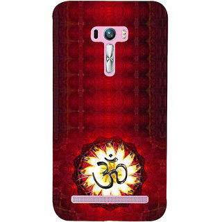 ifasho Modern Art Om design pattern Back Case Cover for Asus Zenfone Selfie