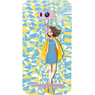 ifasho Skinny girl Back Case Cover for Asus Zenfone Selfie