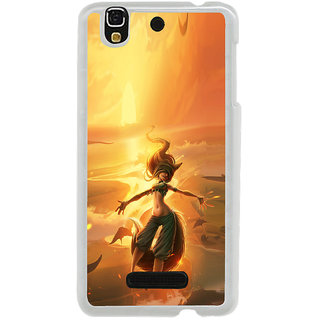 ifasho Girl in water animated Back Case Cover for Yureka