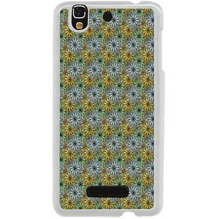 ifasho Animated Pattern design many small flowers  Back Case Cover for Yureka