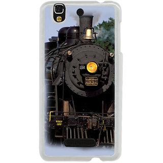 ifasho Train engine design Back Case Cover for Yureka