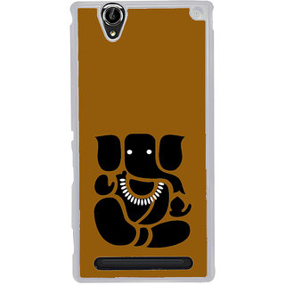 ifasho Modern Art Ganesh Back Case Cover for Sony Xperia T2