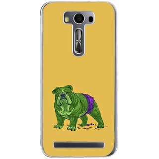 ifasho Animated Design Dog Back Case Cover for Zenfone 2 Laser ZE500KL