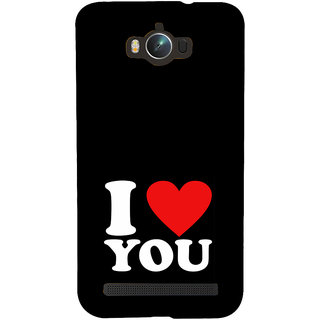 ifasho Love Quotes I love you Back Case Cover for Asus Zenfone Max