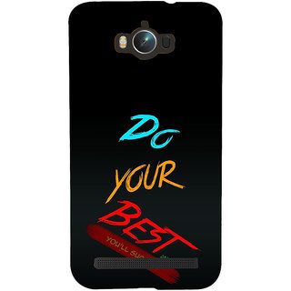 ifasho Do your best Back Case Cover for Asus Zenfone Max