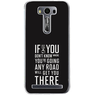 ifasho Life quote Back Case Cover for Zenfone 2 Laser ZE500KL