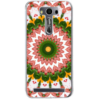 ifasho Animated Pattern design colorful flower in royal style Back Case Cover for Zenfone 2 Laser ZE500KL