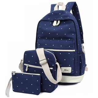 Aeoss Women School Backpack College Wind Women's Backpack Canvas Fashion Backpacks (A319NV)