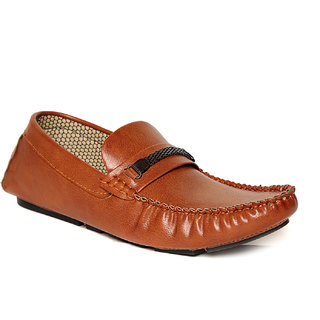 TEN Brown Leather Loafers
