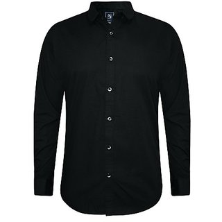 Black Formal Shirts for Men