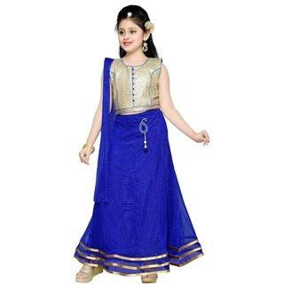 Mid Age Girls Party Wear Lehenga Choli Set
