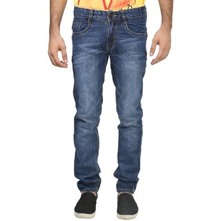 U.S. ORIGIN BLUE FADED MAN  JEANS
