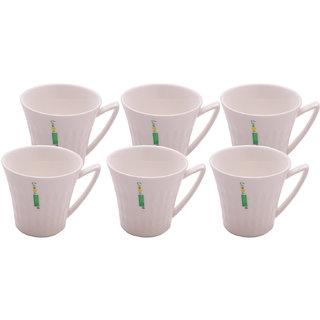 6 Pieces Tea Cup Set Tea/Coffee Cup Set of 6 (Set 4)