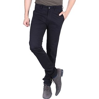 Regular Fit Mens Trousers