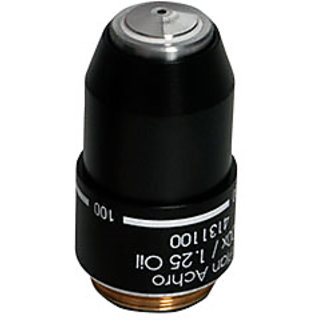 Labovision DIN SEMI PLAN Achromatic Microscope Objective 100x Oil Immersion