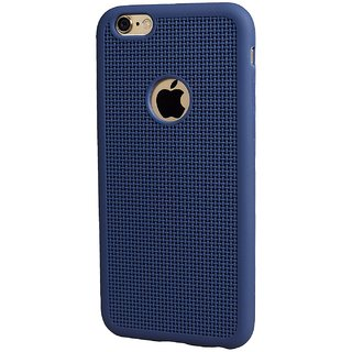 VSDEALS Apple iPhone 6plus Silicone Case Rubber Soft Skin Cover Black color