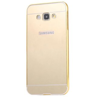 Golden Mirror Back Cover for Samsung Galaxy On7