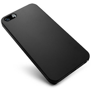 VSDEALS Soft Silicone Slim Back Cover Case for Apple iPhone 6S  6 Black