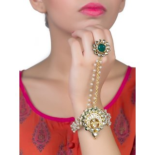 Handcuff in Kundan adjustable