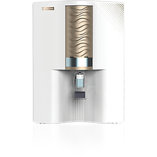 BlueStar Majesto RO+UV Water Purifier-White and Gold