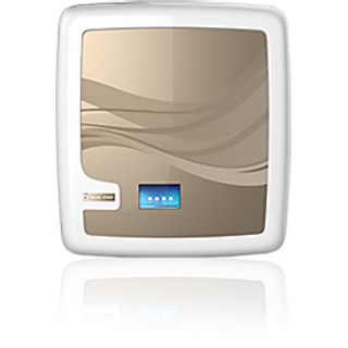 BlueStar Edge RO+UV Water Purifier - White and Gold