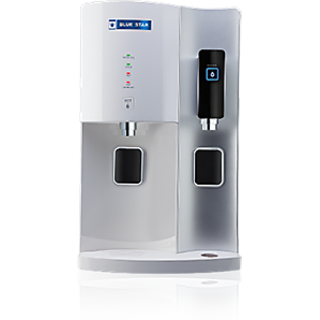 BlueStar Stella RO+UV+Hot  Cold Water Purifier - White and Silver