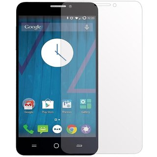 Micromax YU Yureka Tempered Glass Screen Guard With Cleaning Cloth