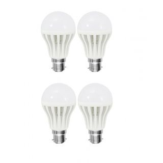 PNP 9watt LED Cool Daylight Bulb (Cool Day Light,Pack Of 4)