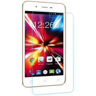 Lava Iris X1 Grand Tempered Glass Screen Guard With Cleaning Cloth