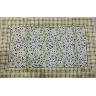 Double  cotton bed sheet with two pillow cover