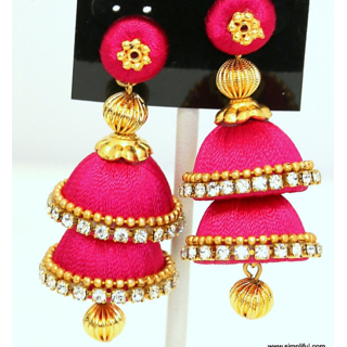 hand made colours earings