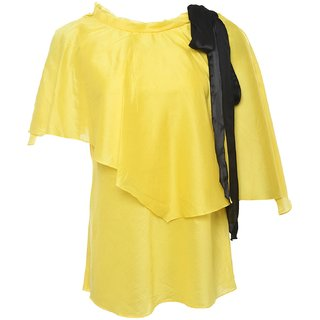 Designer wear yellowTop