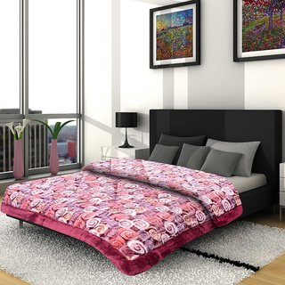 Titos Abstract Printed Polyester Quilt